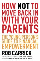 How not to move back in with your parents