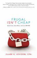 Frugal isn't cheap