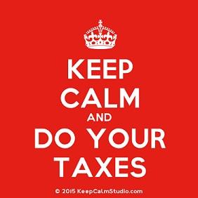 Keep calm and do your taxes